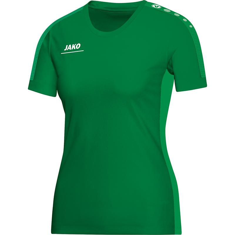 27d2261e275d jako 6116 06 T-Shirt Striker sportgrün   Spodo - Ihr Sportversand by Franz  Wilhelmer Sport   Mode GmbH
