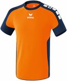 erima 613610 VALENCIA Trikot neon orange/new navy
