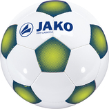 jako 2308 11 Ball Light Classico 3.0 32 panel, handgenäht weiß/night blue/lime-350g