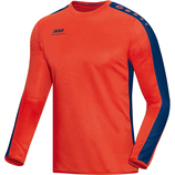 jako 8816 18 Sweat Striker flame/nightblue