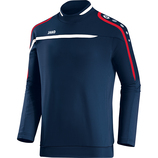 jako 8897 09 Sweat Performance marine/weiß/rot