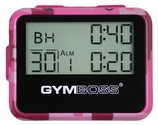 GYMBOSS Intervall Timer pink camouflage