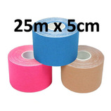 KINESIOlogisches Tape, 25m x 5cm, pink