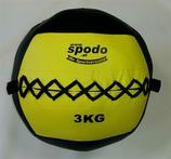 Powerteam Wall & Weight Ball 3 kg gelb (#FH5012)
