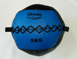 Powerteam Wal & Weight Ball 5 kg blau (#FH5012)