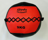 Powerteam Wal & Weight Ball 9 kg rot (#FH5012)